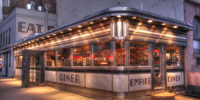 Devanture d'un fast food new-yorkais