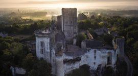 Cité royale de Loches dans le Val de Loire