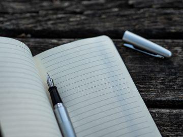 carnet de note pour checklist