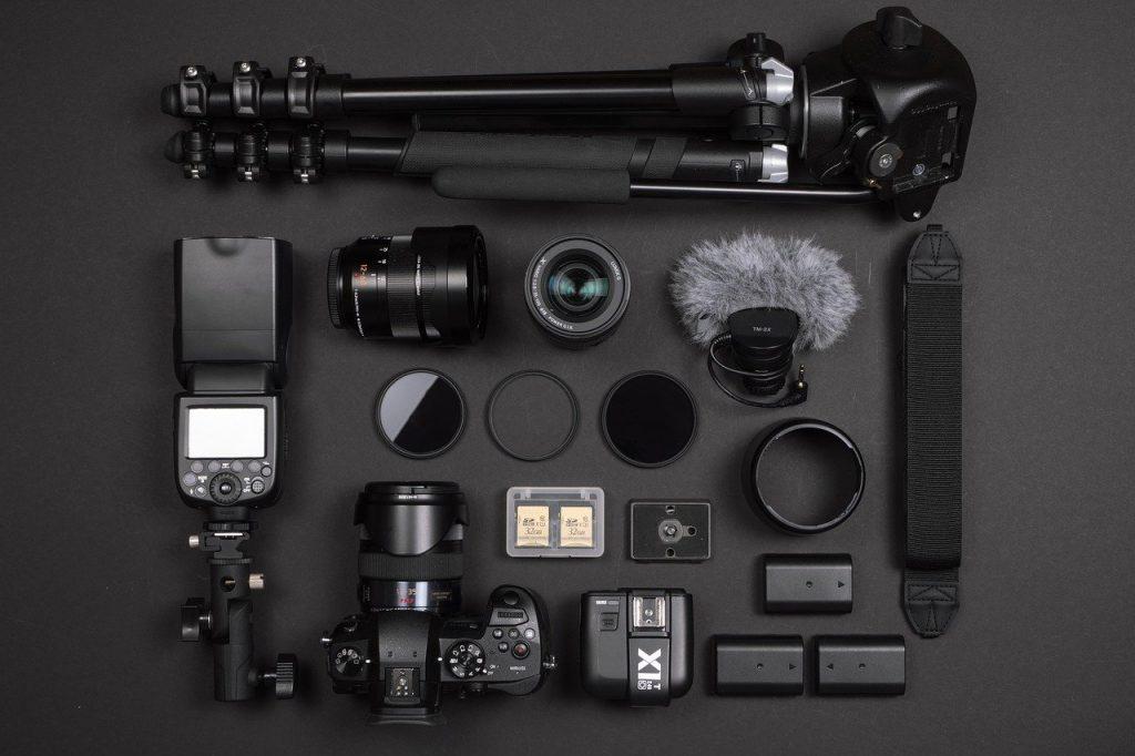 appareil photo numérique réflex