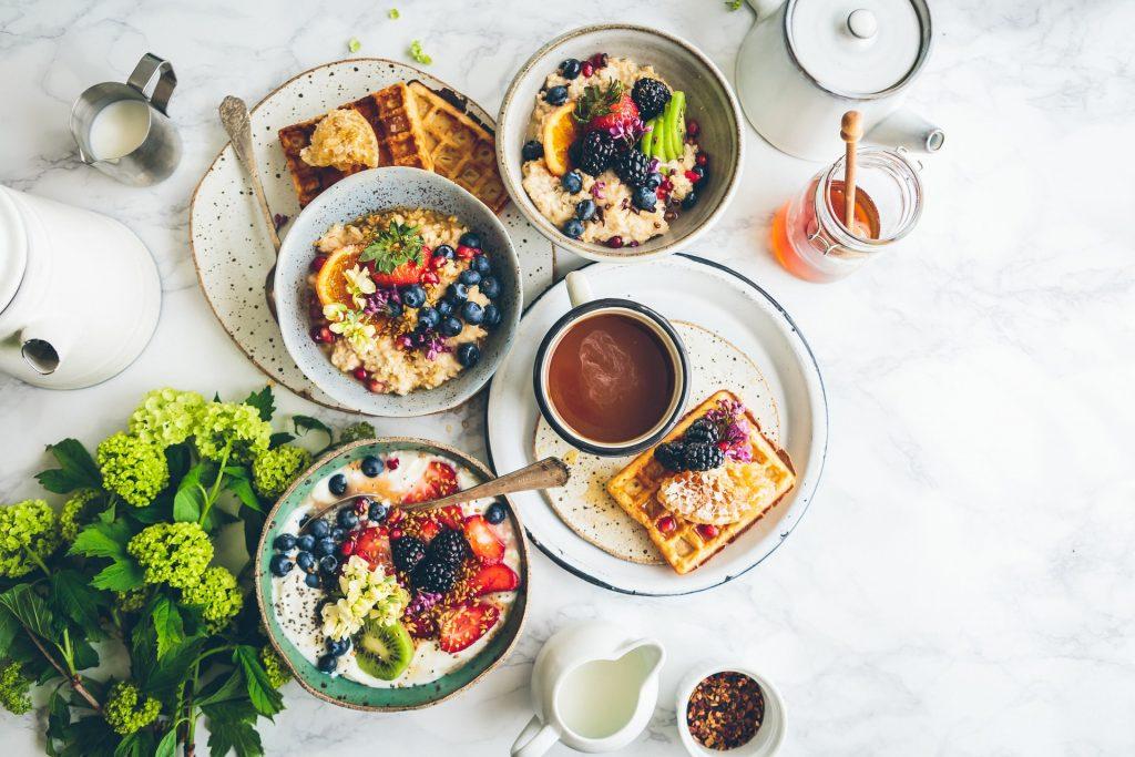 portage de repas petit dejeuné
